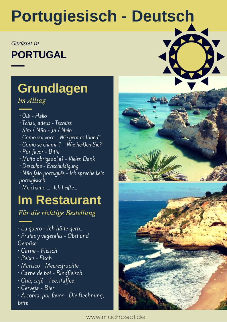 Portugisisch - Deutsch