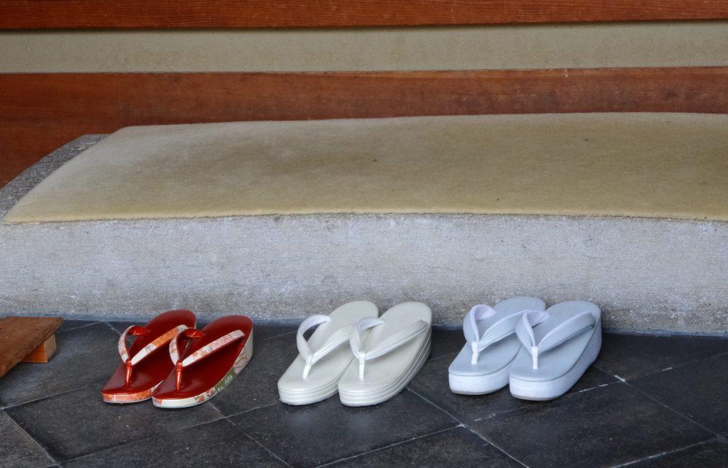 Reiseknigge Japan Schuhe