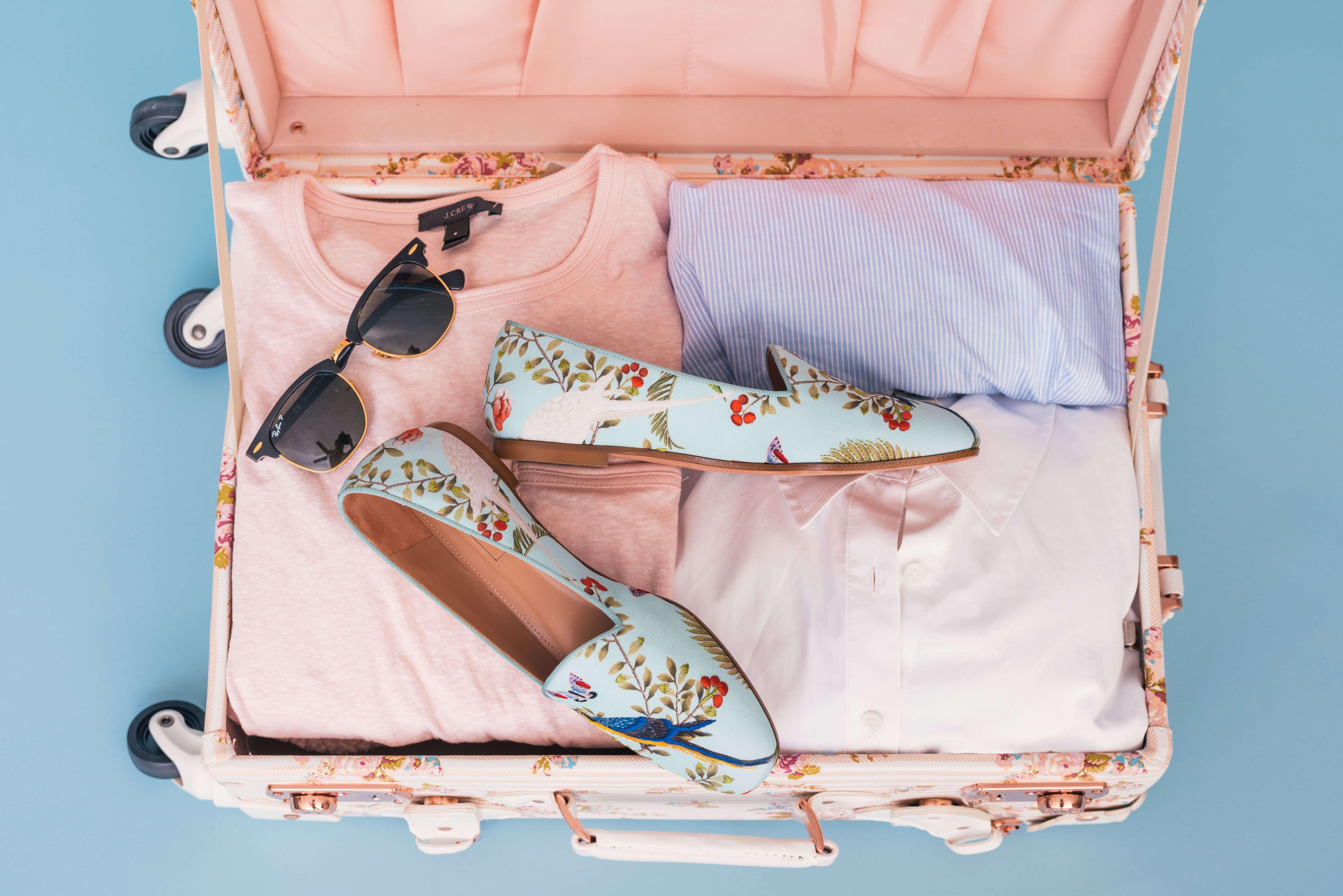 koffer packen titel