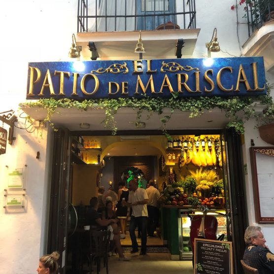 besten Restaurants in Málaga patio de mariscal