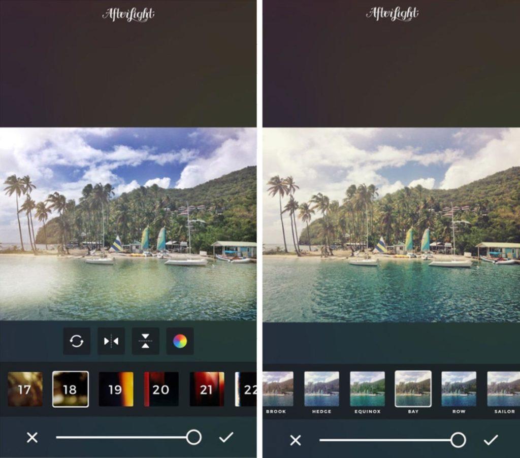 Fotofilter-Afterlight