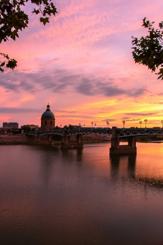 3-Tage-in-Toulouse-Sonnenuntergang