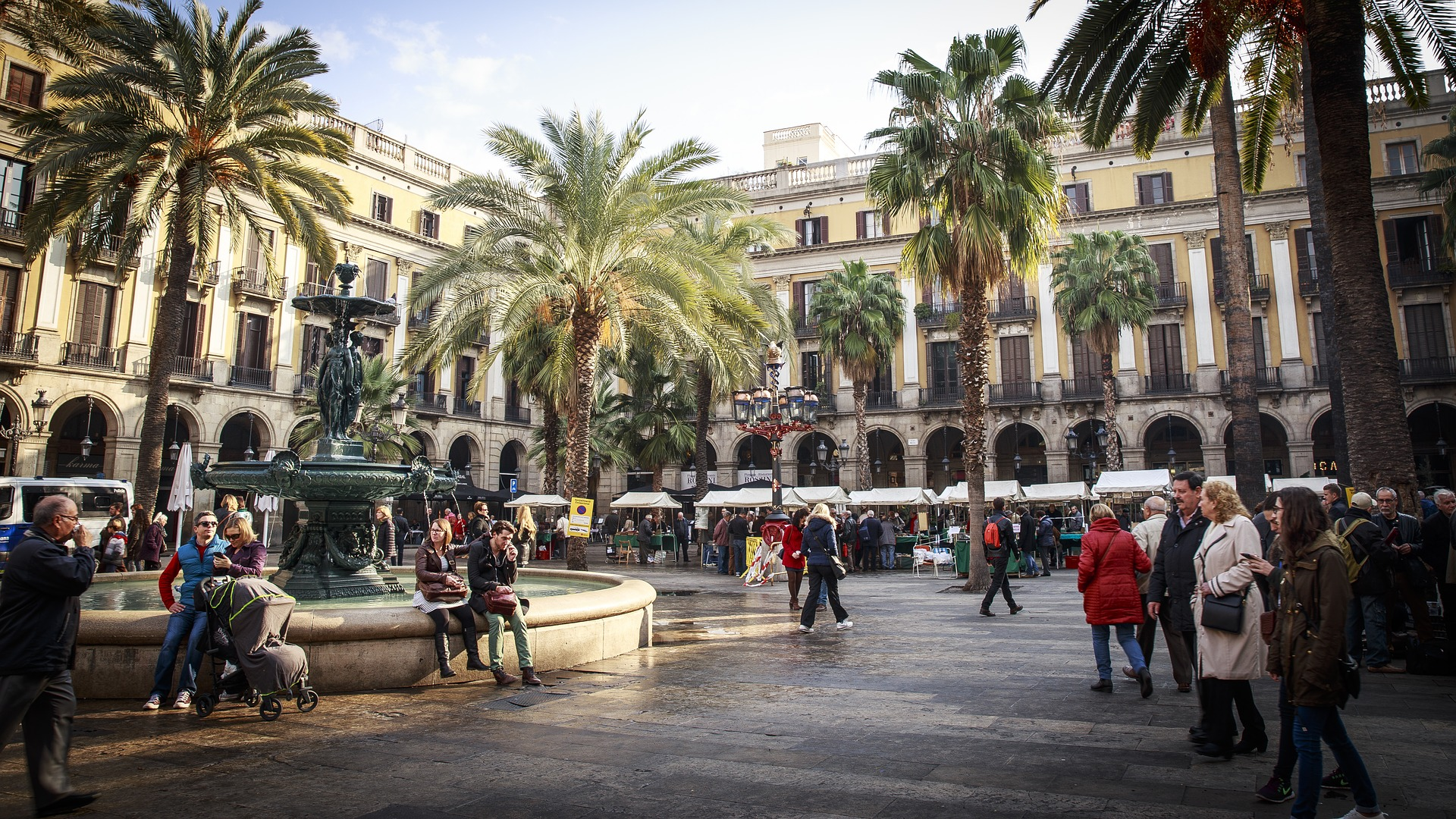 Barcelona-mit-Kindern-Stadt