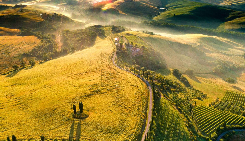 Dörfer-der-Toskana-Gebirge