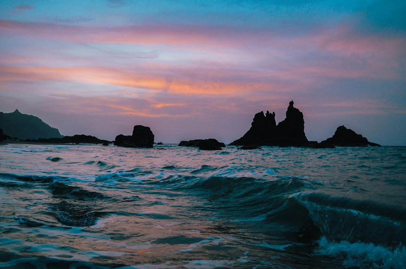 Urlaub-auf-den-Kanaren-Sonnenuntergang